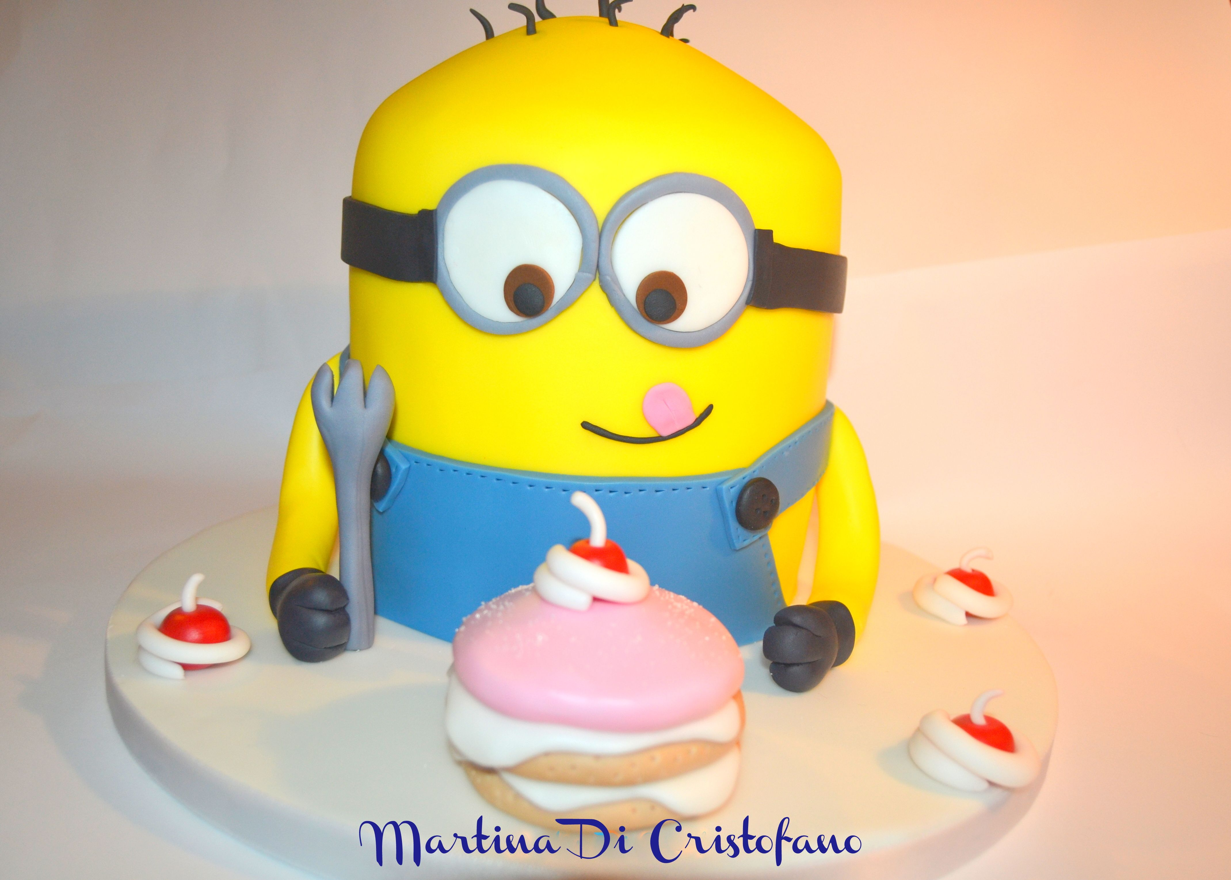 Torta minion torte cake design le mie ali di zucchero cake templates torta minion maxwellsz