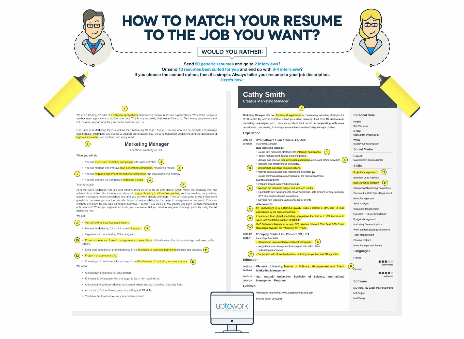 How To Write A Resume And Tailor It To Job Description  Job