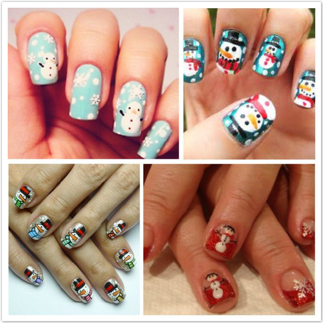 Christmas snowman nail art ideas christmas nails ladies christmas snowman nail art ideas prinsesfo Image collections