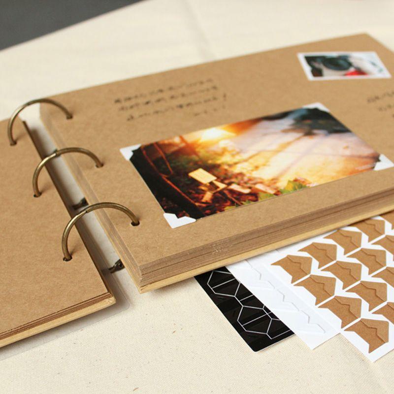 Cheap Ring Binder Photo Album Buy Quality Kraft Directly From China Wedding