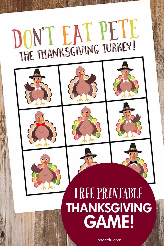 Don T Eat Pete Thanksgiving Game In 2020 Fun Thanksgiving Games Thanksgiving Games Thanksgiving Kids