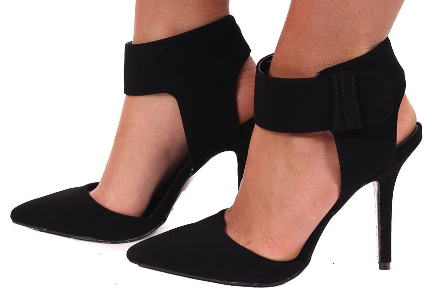 Lime Lush Boutique - Black Suede Ankle Strap Pump, $49.99 (http://www.limelush.com/black-suede-ankle-strap-pump/)