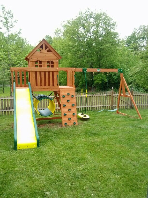 Merveilleux Backyard Discovery Cedar View Playset From BJu0027s Wholesale Installed In  Quakertown, ...