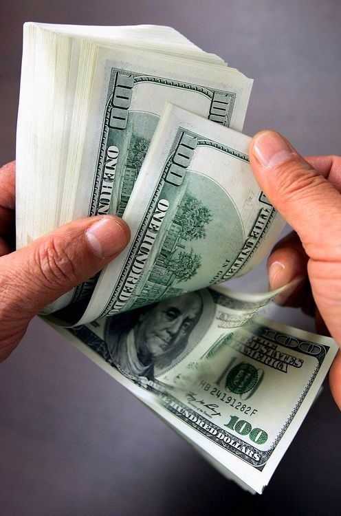 Counting The Cash In My Hands Business Is Thriving 2 10 2018