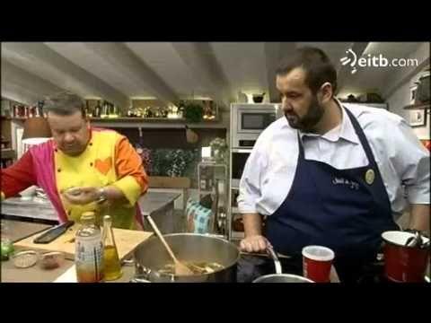 Alberto chicote y david de jorge nos ense an la receta de for La cocina de david de jorge