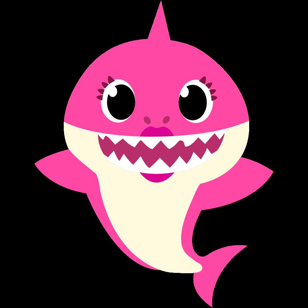 Mommy Shark PNG 03   Baby shark, Shark theme birthday ...
