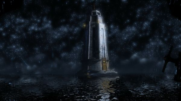 water ocean stars lighthouses bioshock infinite reflections_wallpaperswa.com_73.jpg (600×337)