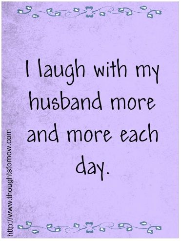 Positive affirmations for my husband