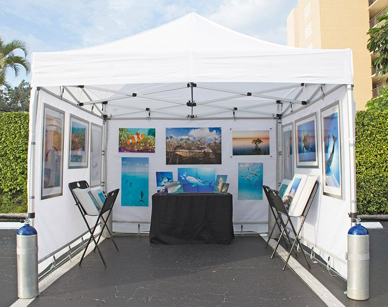 amazing Art Festival Booth Display Ideas Part - 13: Tent Help - Art Fair Insiders