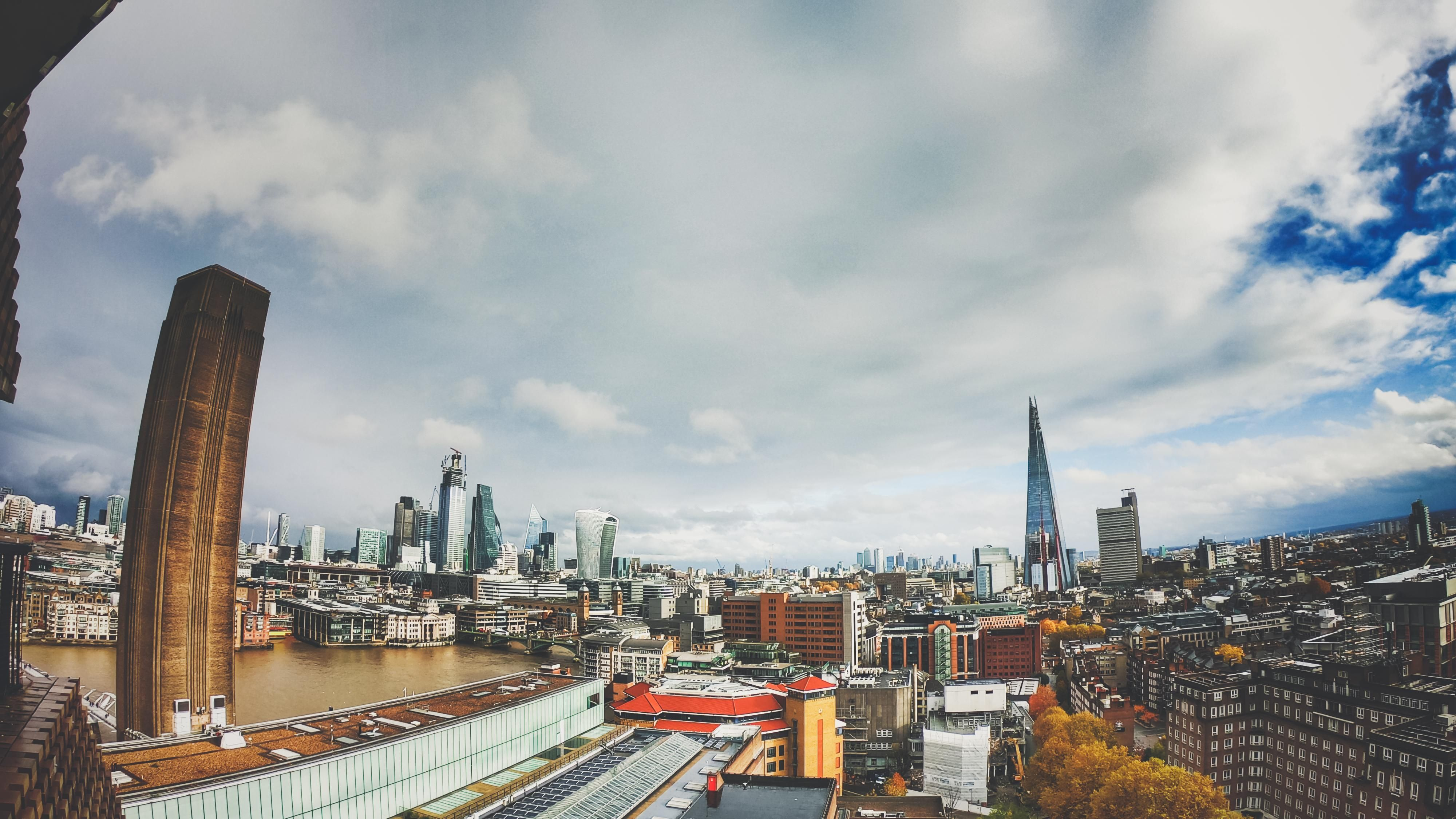 Epic View From The Free Viewing Level In The Back Of The Tate Modern Views Epic London
