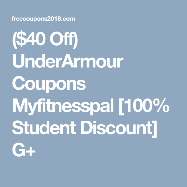 Under Armour 40 Off 100 Code April 2020 Free Promo Codes