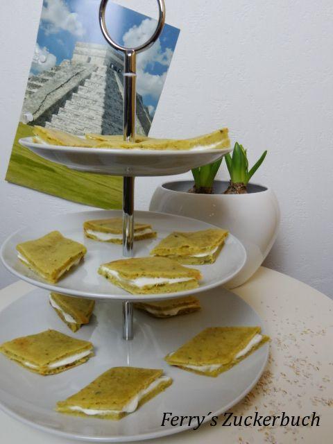Avocado-Amaranth-Schnitten / ferryszuckerbuch.blogspot.de