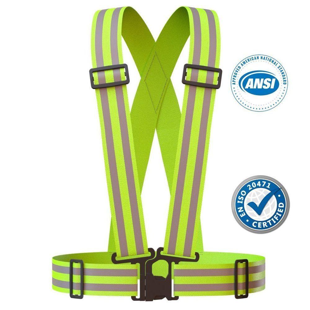 Best adjustable reflective vest belt bands for ruuning