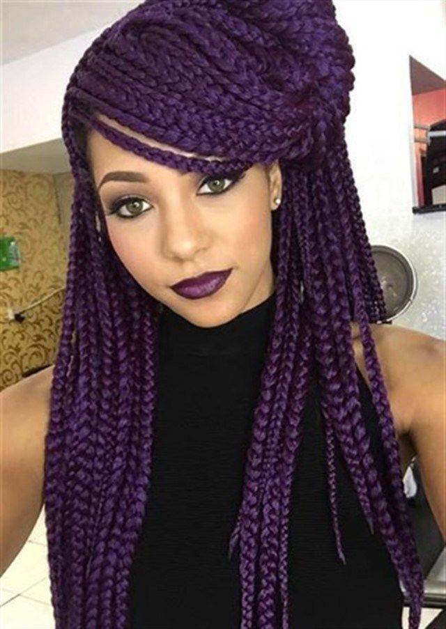 Best Box Braid Hairstyles You Will Love & How To Care For Box Braids