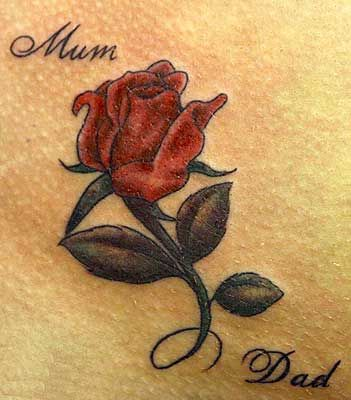 50 Rose Tattoos Meaning Red Rose Tattoo Rose Tattoo Design Coloured Rose Tattoo