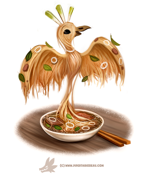 Daily Paint #1267. Pho-nix by Cryptid-Creations Time-lapse ...