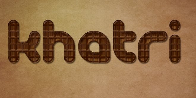 How To Create Chocolate Text Effect In Photoshop | Online Tuts Zone