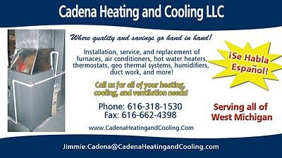 Cadena Heating And Cooling Ad Heating And Cooling Duct Work Heat