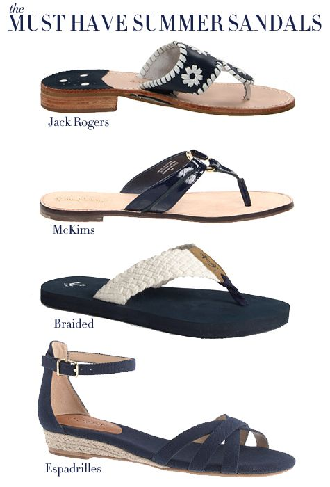 a75f7da73 Must Have Summer Sandals (The College Prepster)