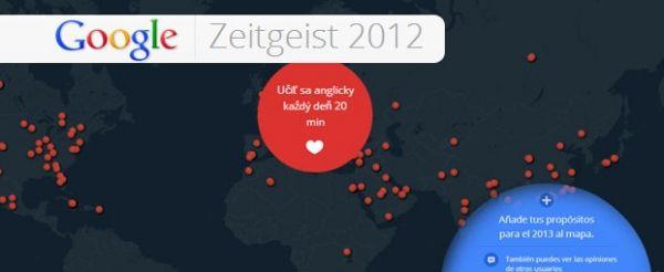 Google recopila los propósitos para año nuevo de todo el mundo