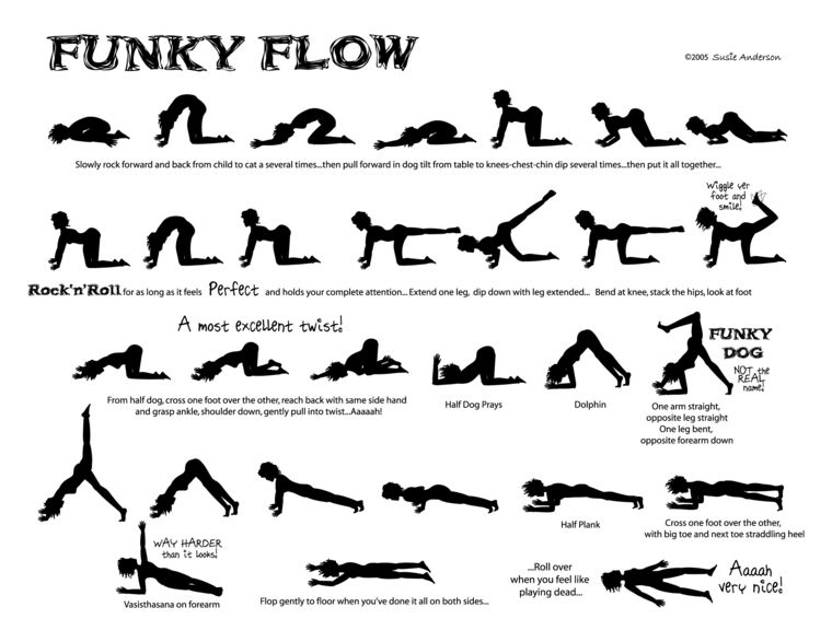 Funky yoga flow by susie anderson yoga and pilates