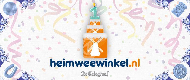 #HEIMWEEWINKEL 1 JAAR!