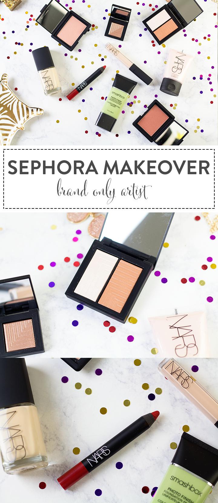 Brand Only Makeup Application at Sephora Sephora