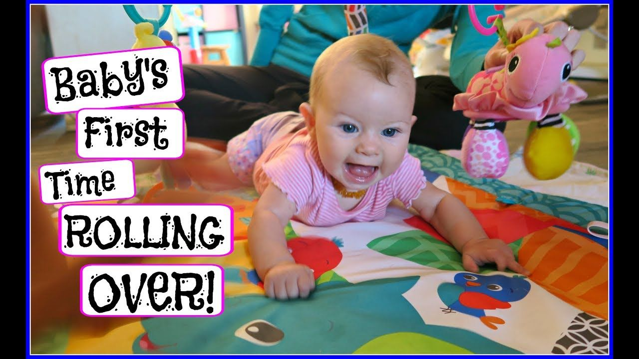 Baby S First Time Rolling Over Day 870 Daily Vlogs Pinterest