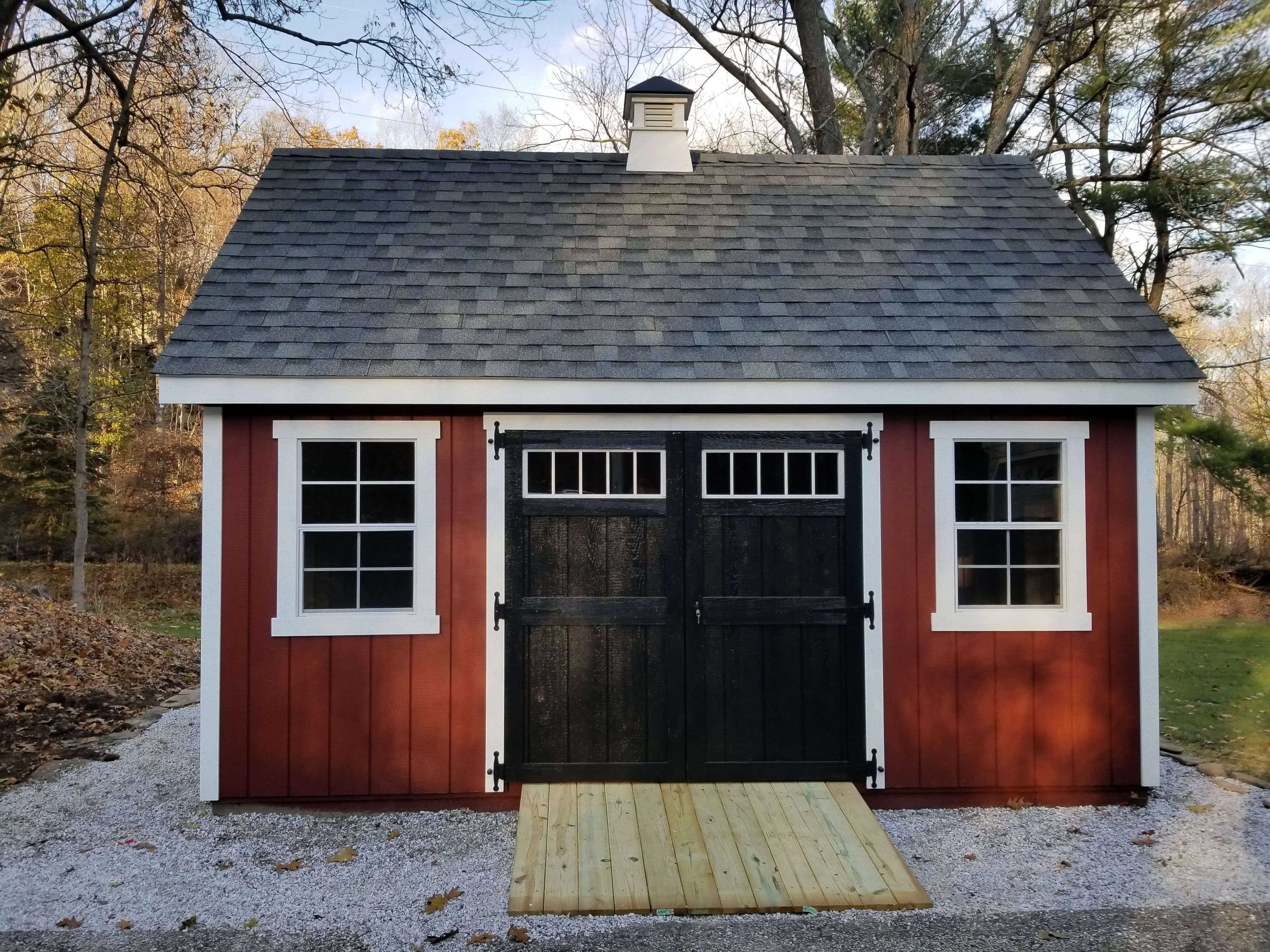 This Awesome Shed Was Installed Fully Built Have One Delivered At Your House Before The Snow Comes Shed Vinyl Storage Sheds Backyard Storage