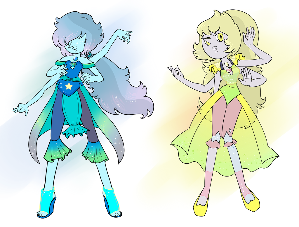 Homeworld pearls forming Opals by Purrsephone12  Designs