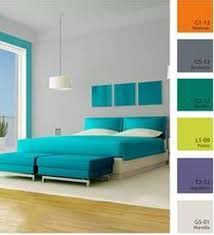 Resultado de imagen para casas color azul turquesa for Pintura interior turquesa