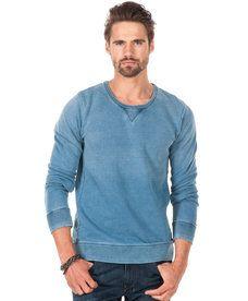 Sweatshirt from Scotch & Soda - Classic Crew neck Sweat 52 Light Blue - Stayhard .se