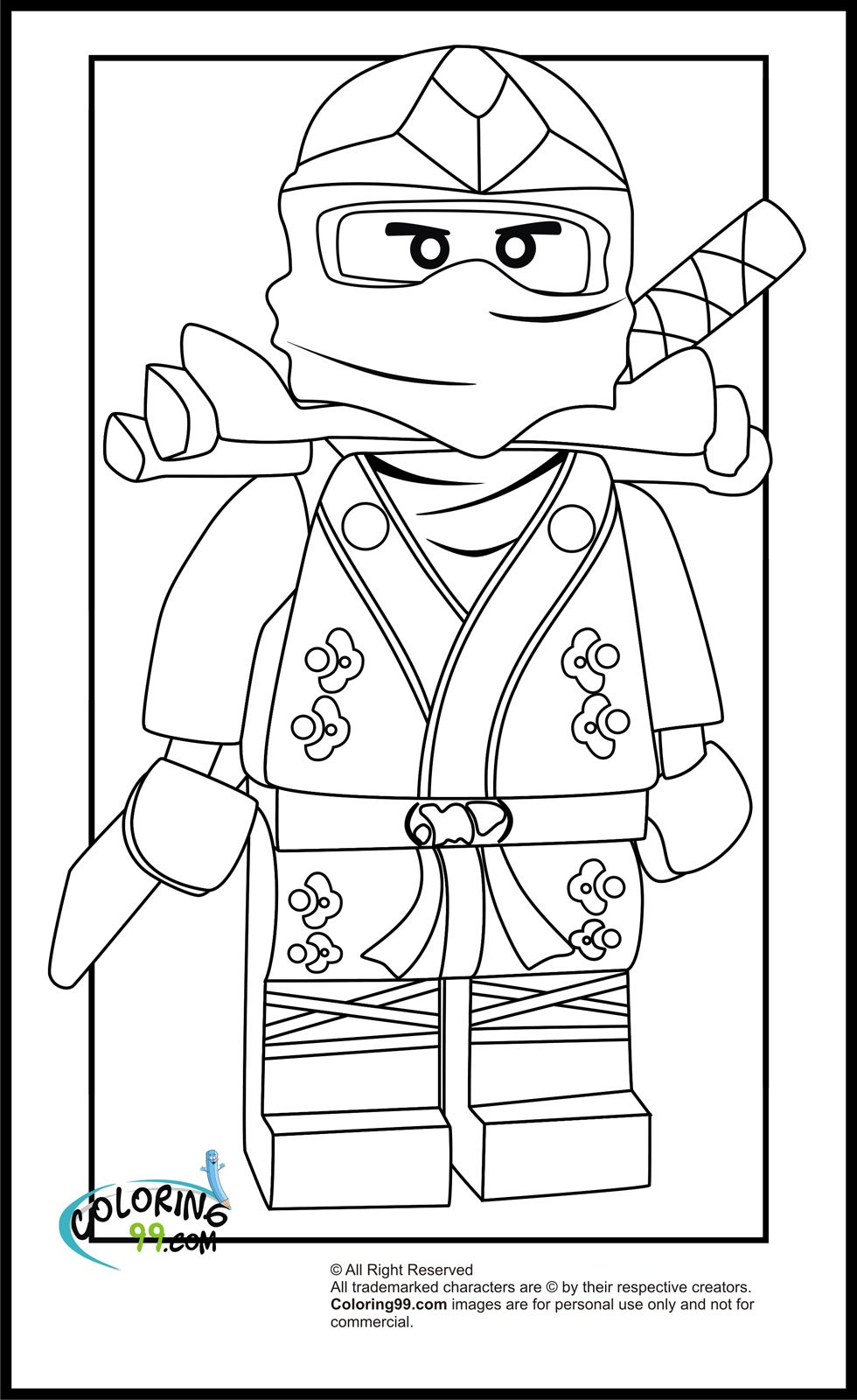 Game online coloring lego - Lloyd Who Is Also Known As The Green Ninja Can Be Said To Be Another Character In Lego Ninjago Collection That Arrest My Mind Quite Well
