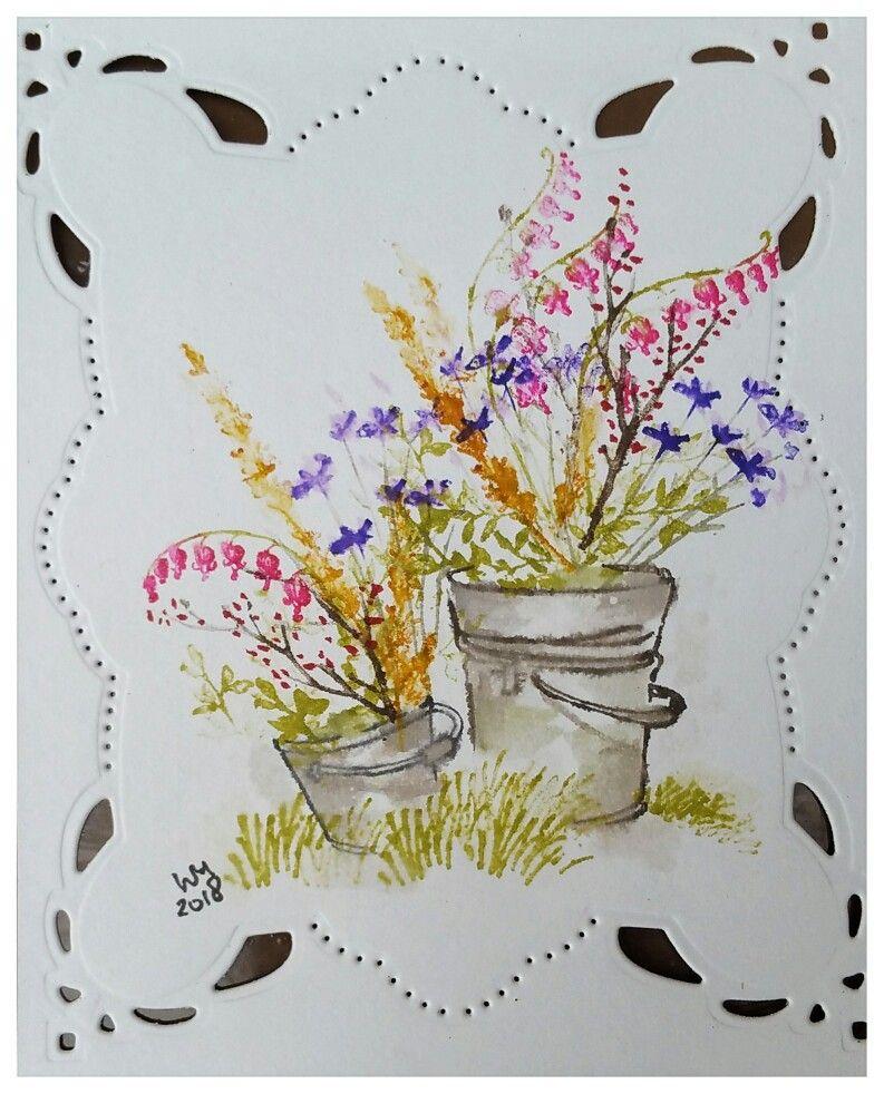 Art Impressions Watercolor Markers Art Impressions Cards Art
