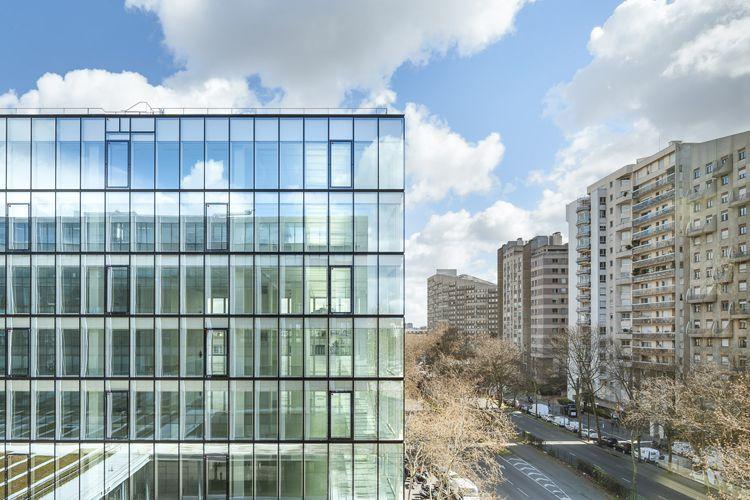 AZC Immeuble de bureaux avenue Leclerc BoulogneBillancourt