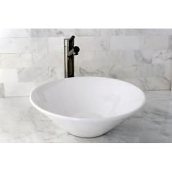 Vessel Vitreous China White Bathroom Sink Update Your Decor
