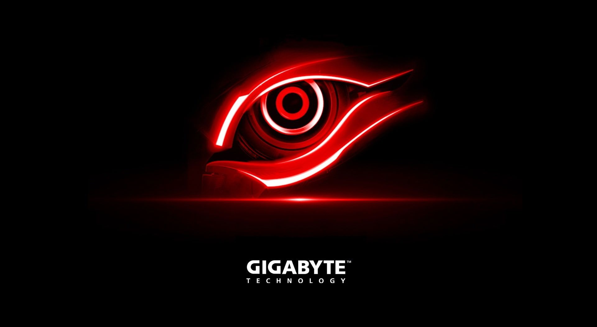 Gigabyte Red Eye Gigabyte Technology Wallpaper Computers Hardware Gigabyte Logo Eye Red Icon Eye Wallpaper Technology Wallpaper Android Phone Wallpaper