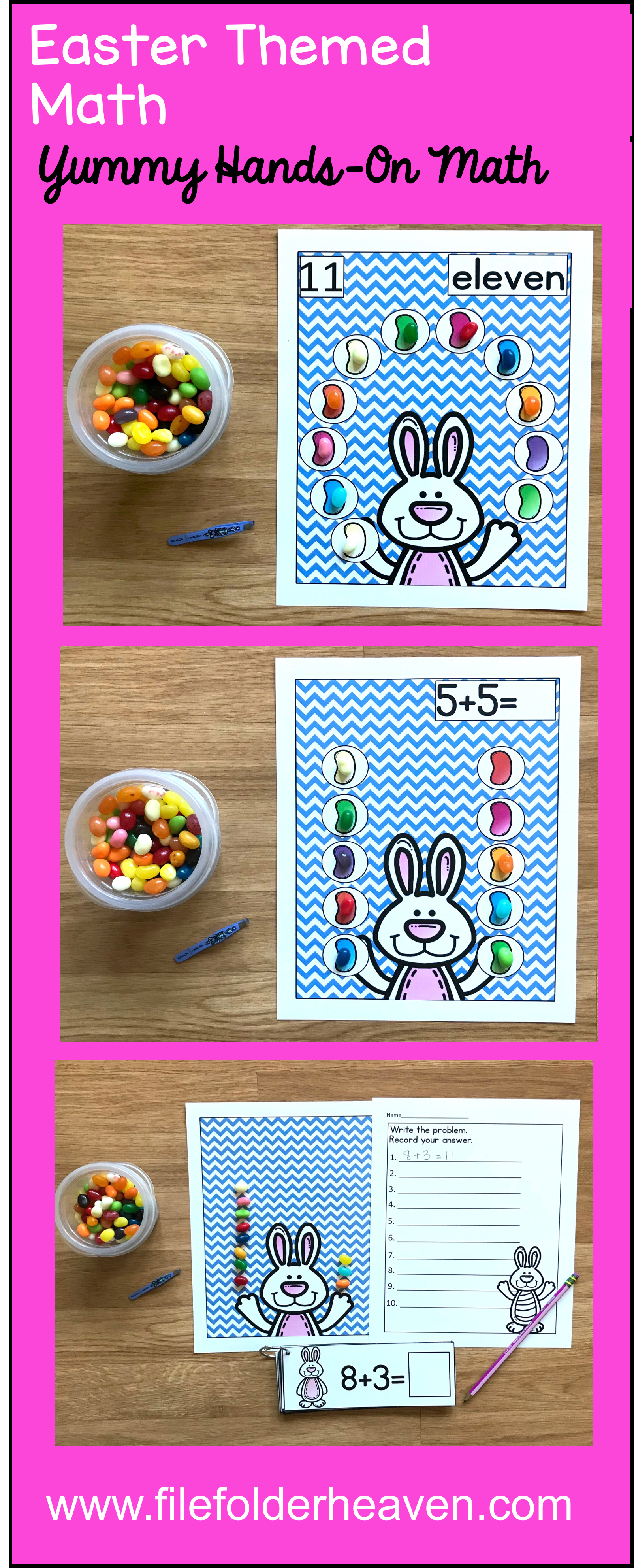 These Easter Math Activities Counting Jellybeans Offer