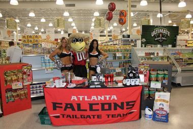 Free Atlanta Falcons Fan Tour at Publix Tuscaloosa, Hoover & Huntsville today - Friday