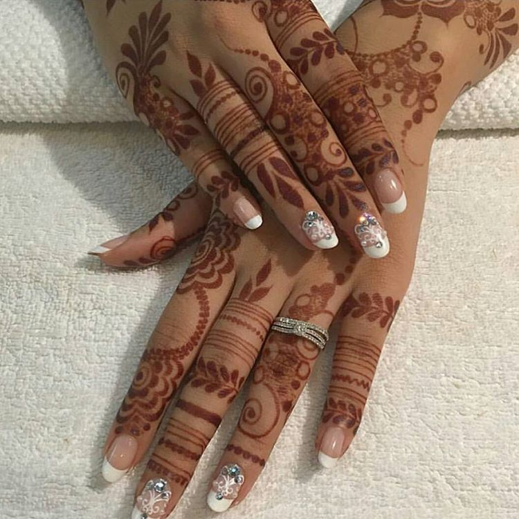 2 037 Likes 8 Comments Beauty Mazarin Design On Instagram حناء حنايات الحناء رسم نق Mehndi Designs For Fingers Wedding Mehndi Designs Finger Henna