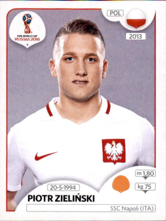 Panini Wm 2018 World Cup Russia Sticker 607 Piotr Zielinski Polen Eur 1 00 302696642083 Rusia 2018 Rusia Mundial De Futbol