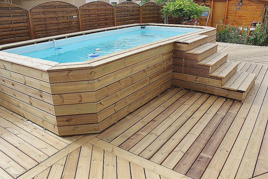 promo piscine bois rectangulaire pour piscine hors sol belle intex piscine tubulaire interesting. Black Bedroom Furniture Sets. Home Design Ideas