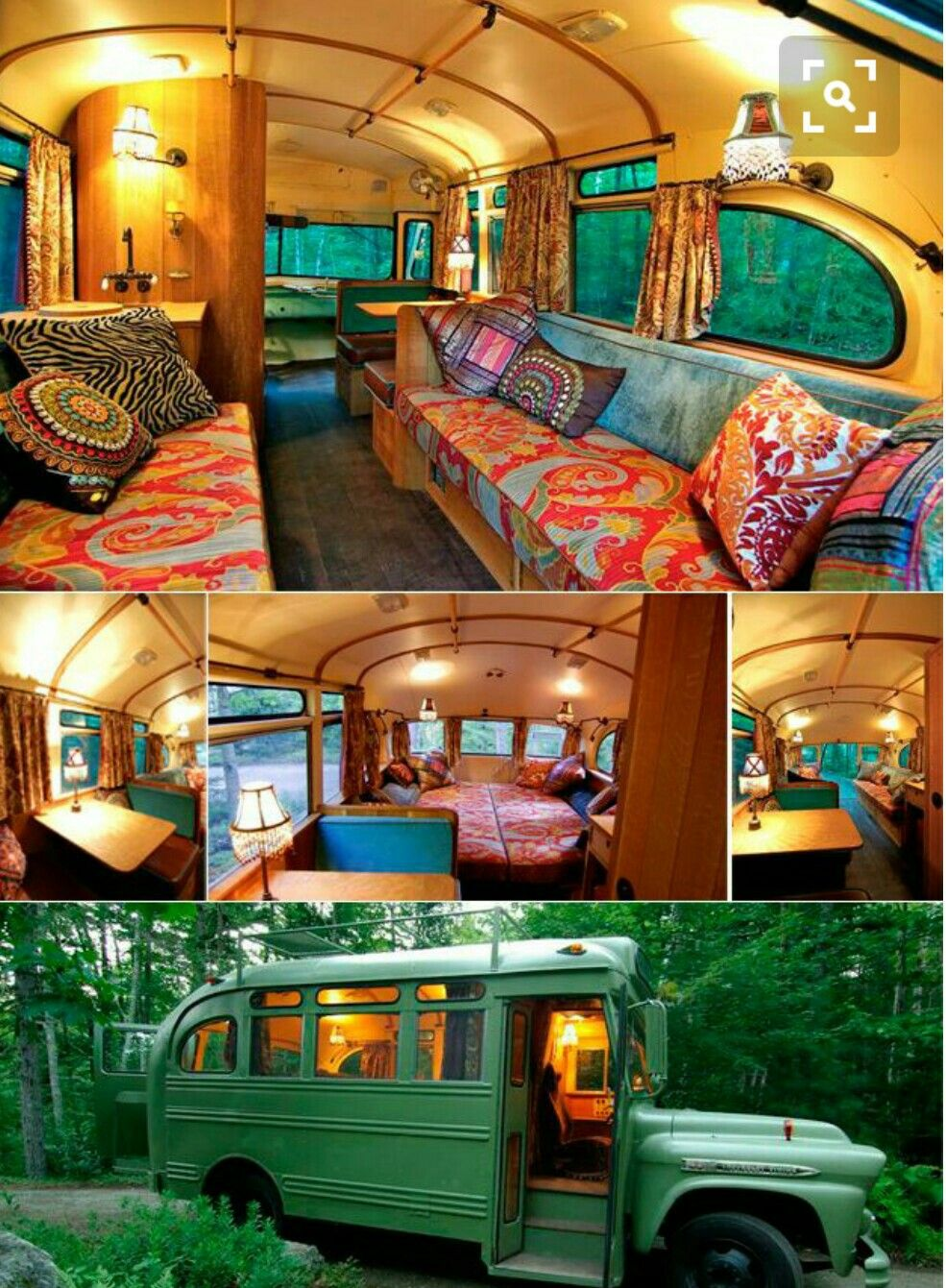 Bus Camper Image By Zeynep On Never Stop