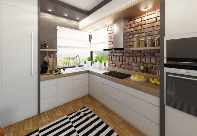 Laminat farben hell  arbeitsplatten küche ideen holzoptik hell laminat graue wandfarbe ...