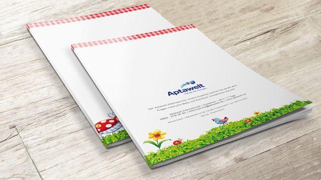 Aptawelt (Mutterpass-Hülle oder U-Heft-Hülle, kostenlose Überraschungspäckchen, Gratis-Proben)