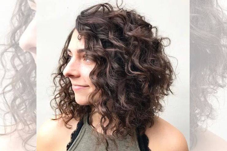 22 Types Of Perm That Could Change Your Hair And Your Life Curly Hair Styles Naturally Curly Lob Curly Angled Bobs