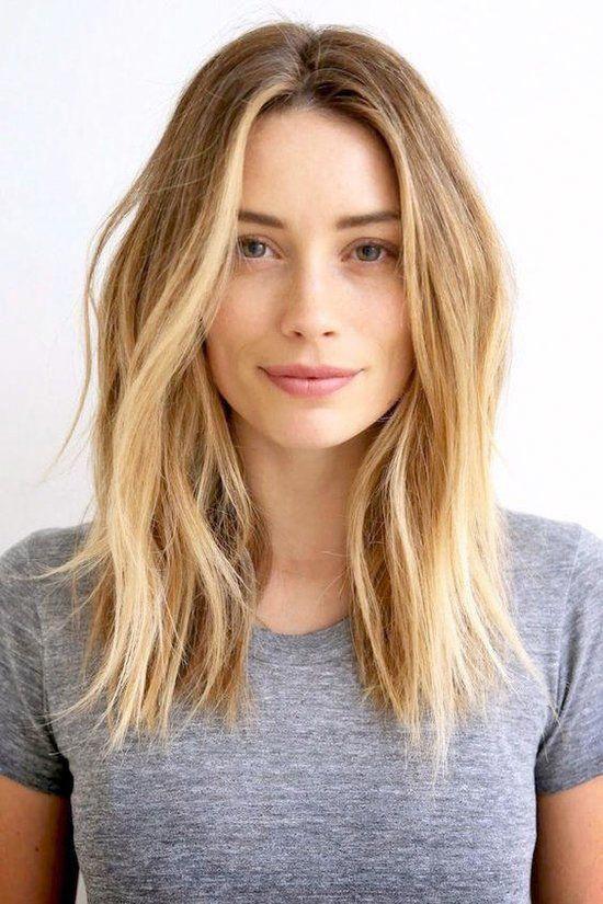 Gorgeous Balayage Straight Hair Styles