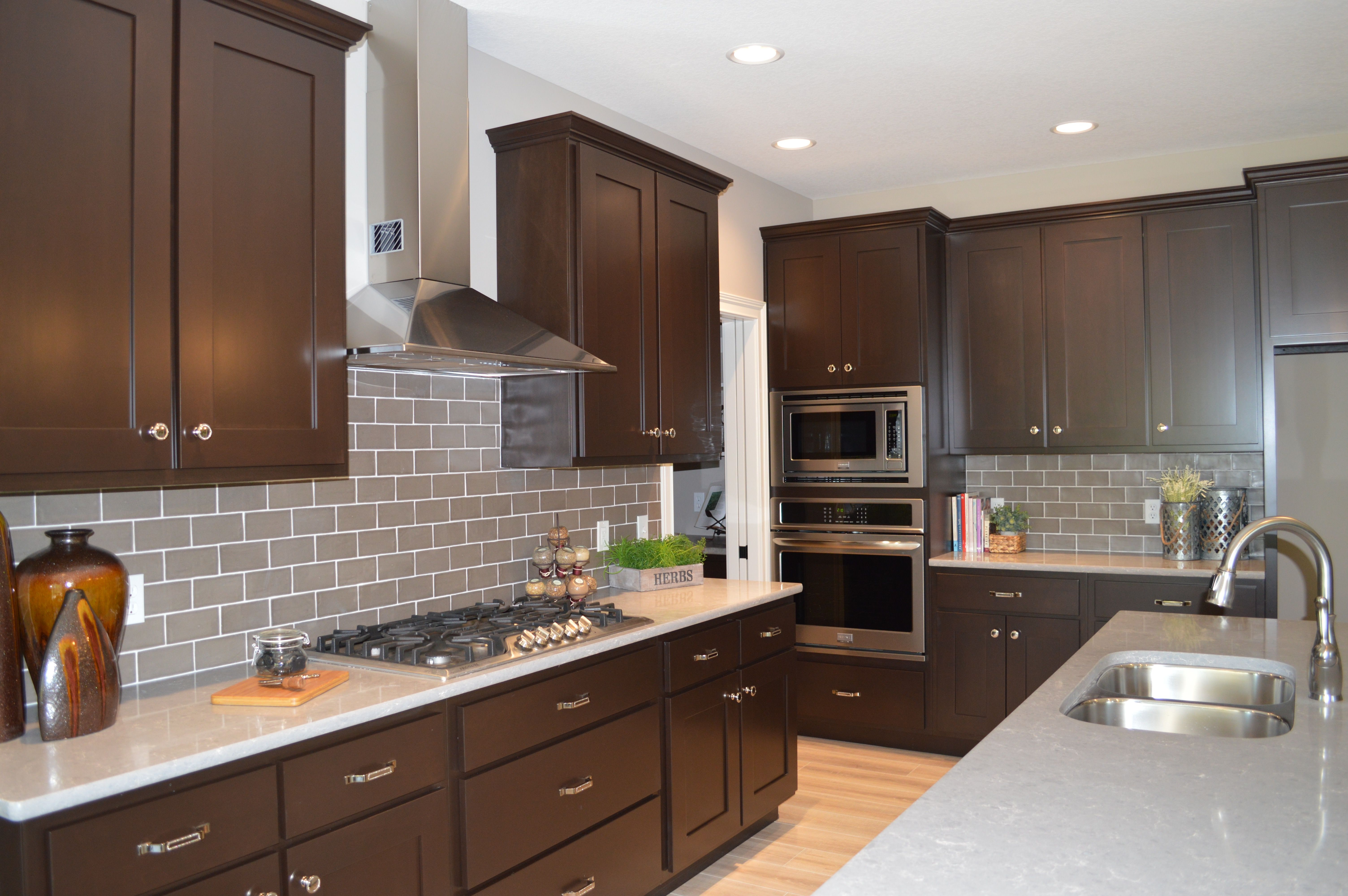 Modern kitchen with a touch of that homey craftsman feel