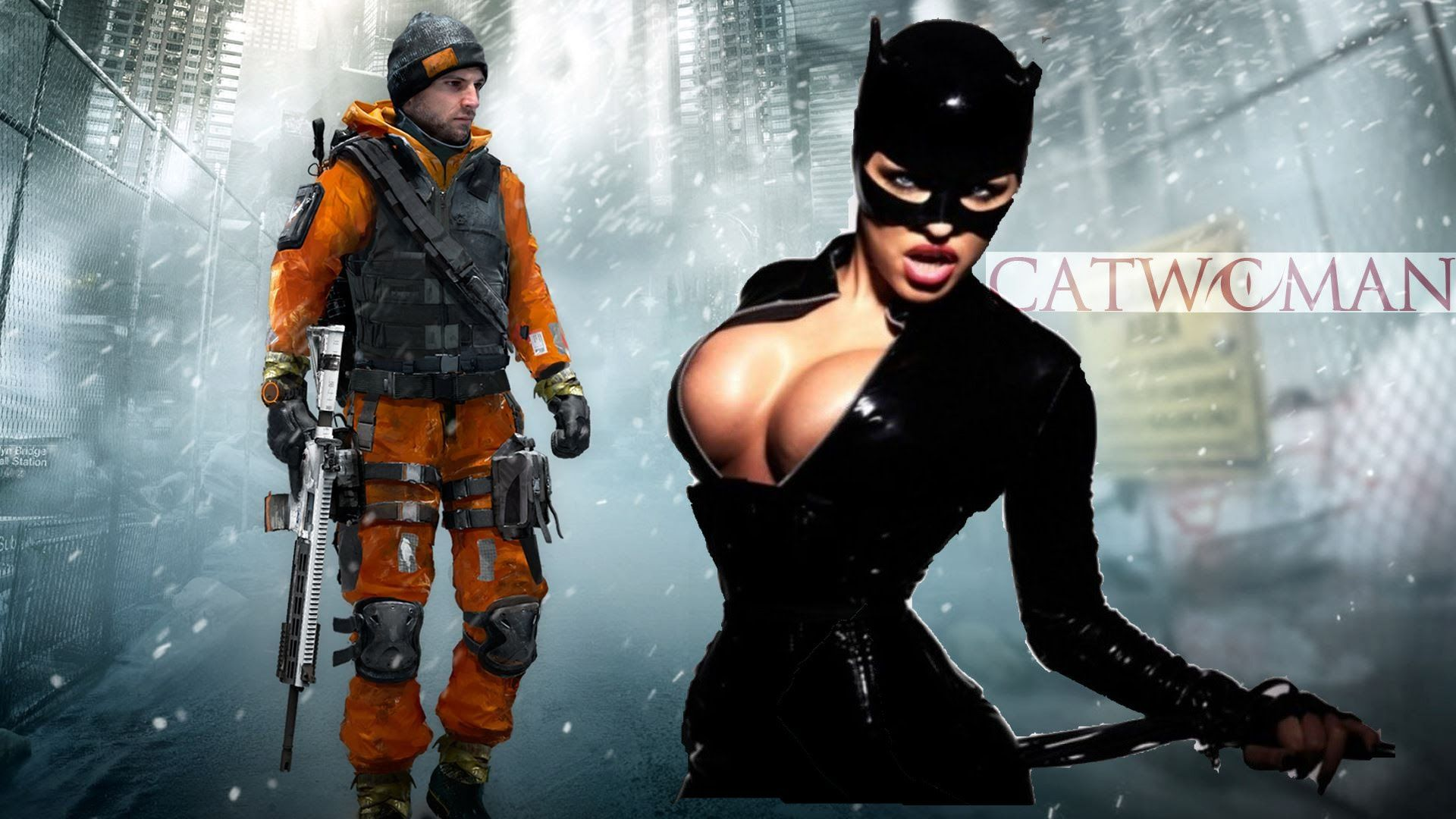 The Division Gameplay German HD PS4 #002 - Let's Test - Agentin Catwoman