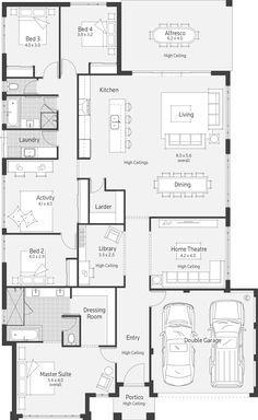 Affinity Dale Alcock Homes Planos De Casas Modernas Diseno De